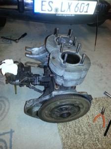 Der alte Motor